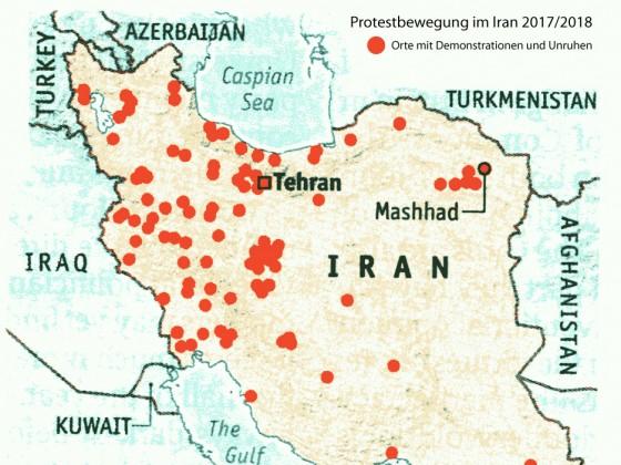 Protestbewegung im Iran