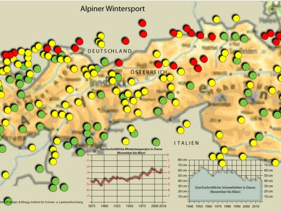 Alpiner Wintersport