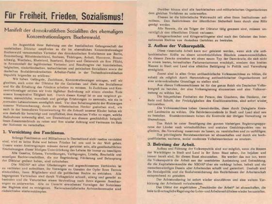 Buchenwalder Manifest 1-2/5