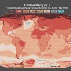 Erderwärmung 2018
