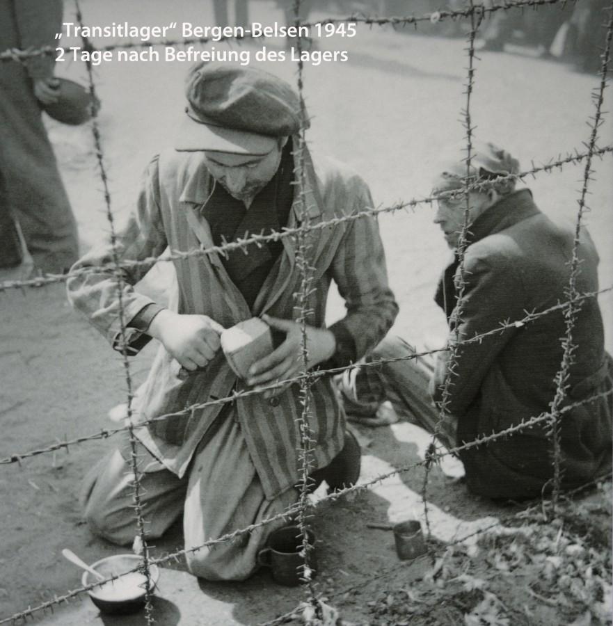 Transitlager Bergen-Belsen 1945
