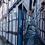 Gassen in Goslar (Bebauung aus dem 17. Jahrhundert)