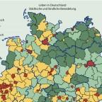 Leben in Deutschland. Siedlungsräume