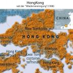 Hongkong seit 1998