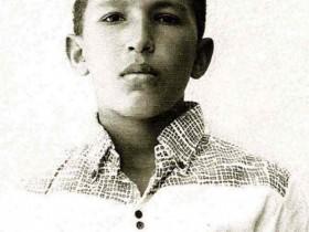Hugo Chavez als Jungendlicher