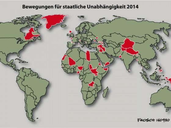 Nationale Unabhängigkeitsbewegungen 2014