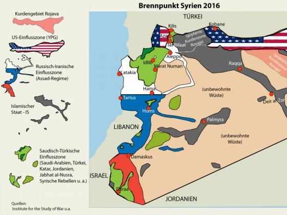 Schlangengrube Syrien 2016