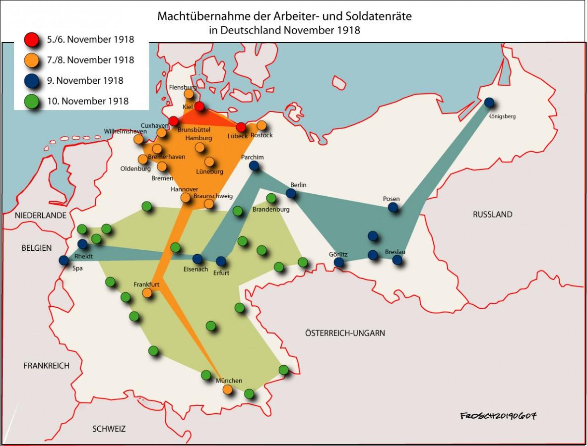 Arbeiter- und Soldatenräte November 1918