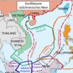 Konfliktzone südchinesisches Meer