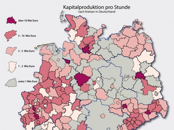 Kapitalproduktion in Deutschland