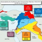 Koloniale Aufteilung des Nahen Ostens 1916/17