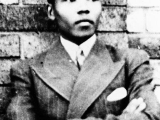 Nelson Mandela in jungen Jahren
