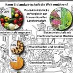 Kann Biolandwirtschaft die Welt ernähren?