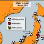 AKWs in Japan - Oktober 2016