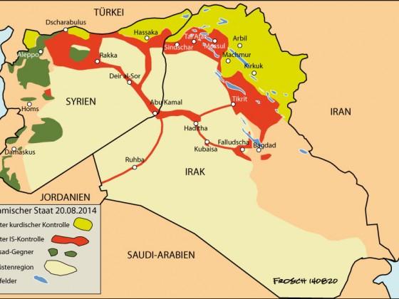 Islamischer Räuberstaat, 20.8.2014